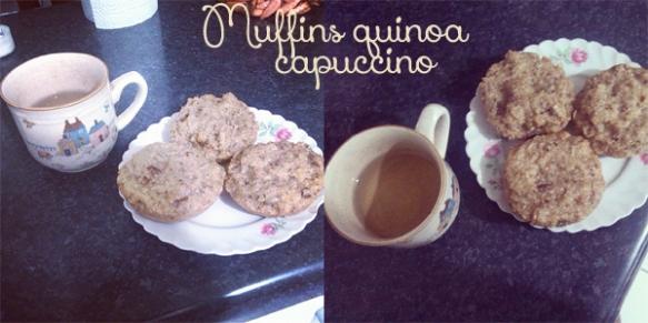 Muffins quinoa capuccino